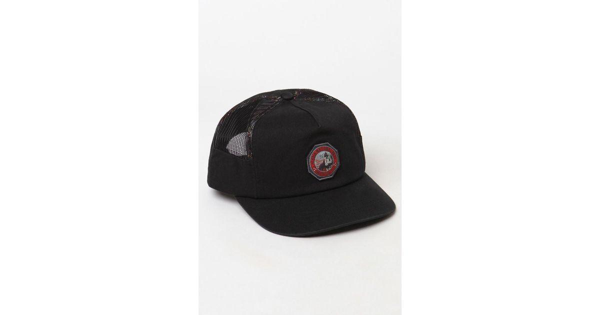 625aff45e90 ... get lyst hurley x pendleton acadia mesh snapback hat in black for men  a5918 54ea1