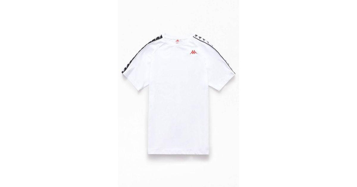 a67023e371d Lyst - Kappa Banda Cohen Slim T-shirt in White for Men