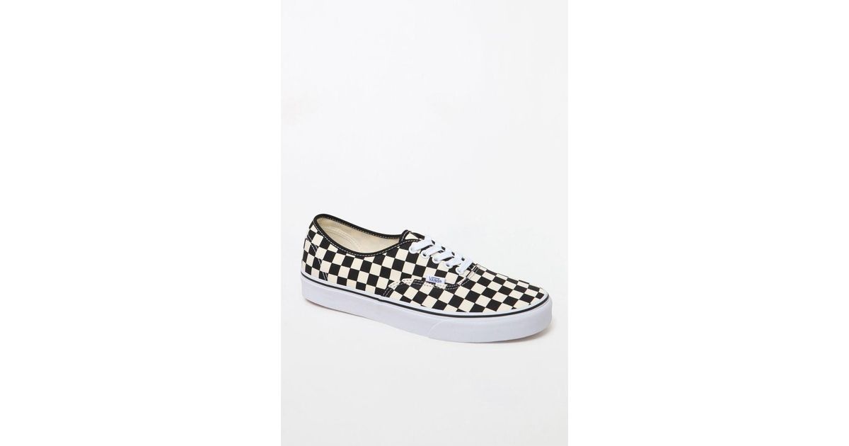 0daa5f4fae Lyst - Vans Golden Coast Authentic Checkerboard Shoes for Men