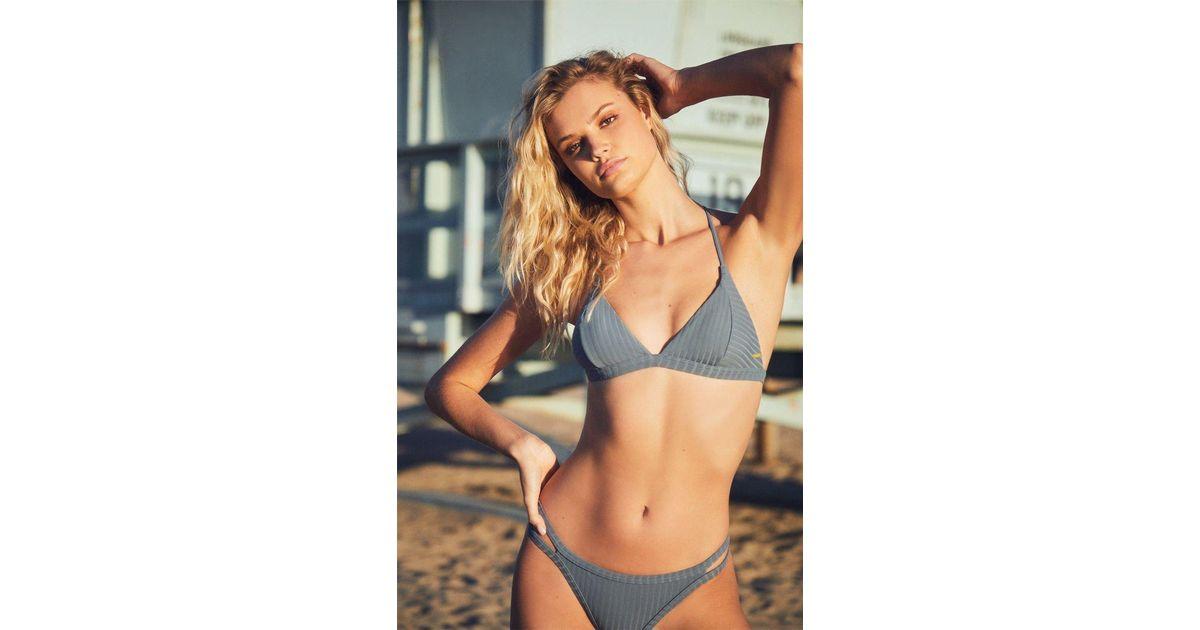 Roxy Womens Color My Life Regular Swimsuit Bikini Bottom