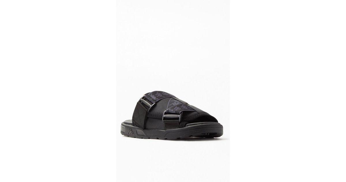 68252e50 Kappa Black 222 Banda Mitel 1 Sandals for men