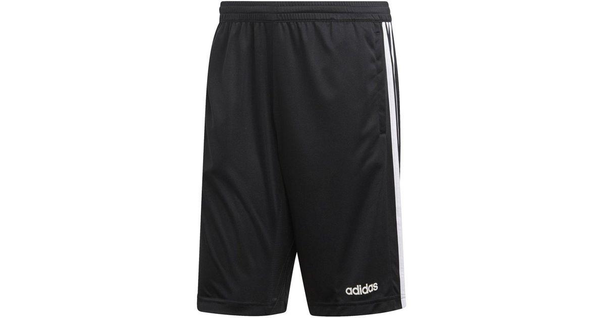 newest 01b32 54c33 Adidas - Black Design 2 Move Climacool 3-stripes Short for Men - Lyst