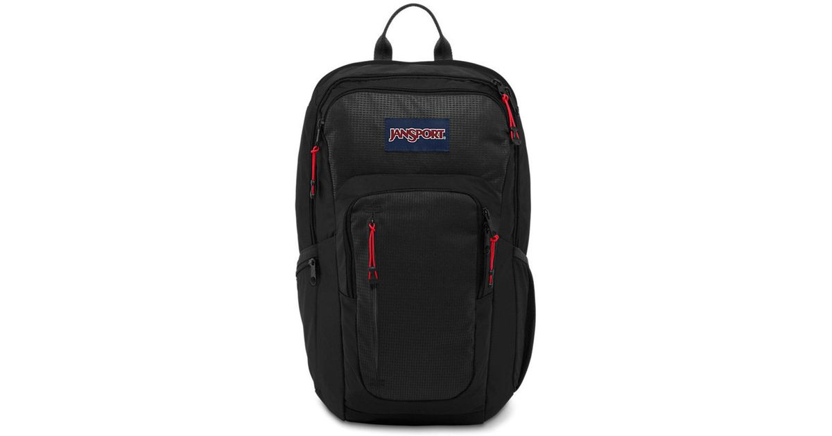 sale uk meticulous dyeing processes high quality Jansport Recruit Laptop Backpack in Black for Men - Lyst