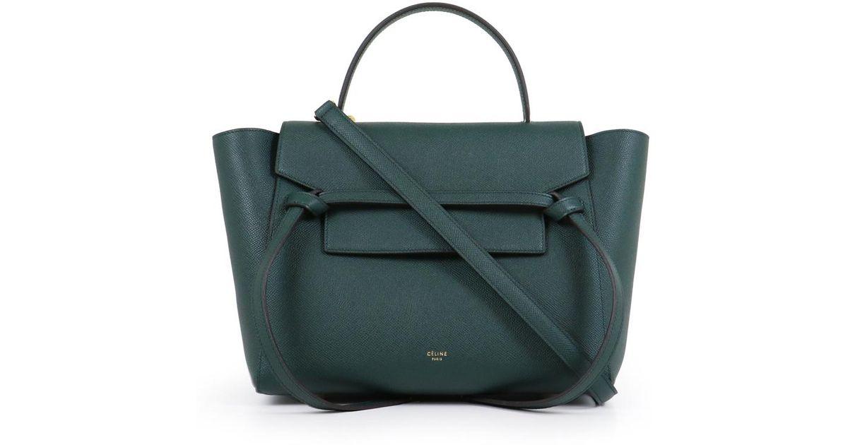 Céline Mini Belt Bag Amazon in Black - Lyst a02d6ebf00a3c