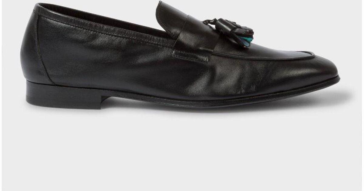 Paul Smith Men's Black Calf Leather