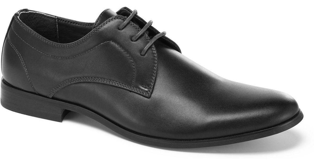 perry ellis portfolio dress shoe in black for lyst