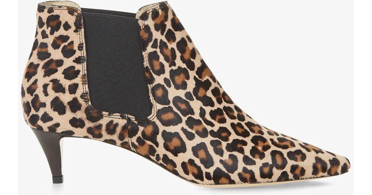 Hobbs Suede Ada Leopard Print Boot in