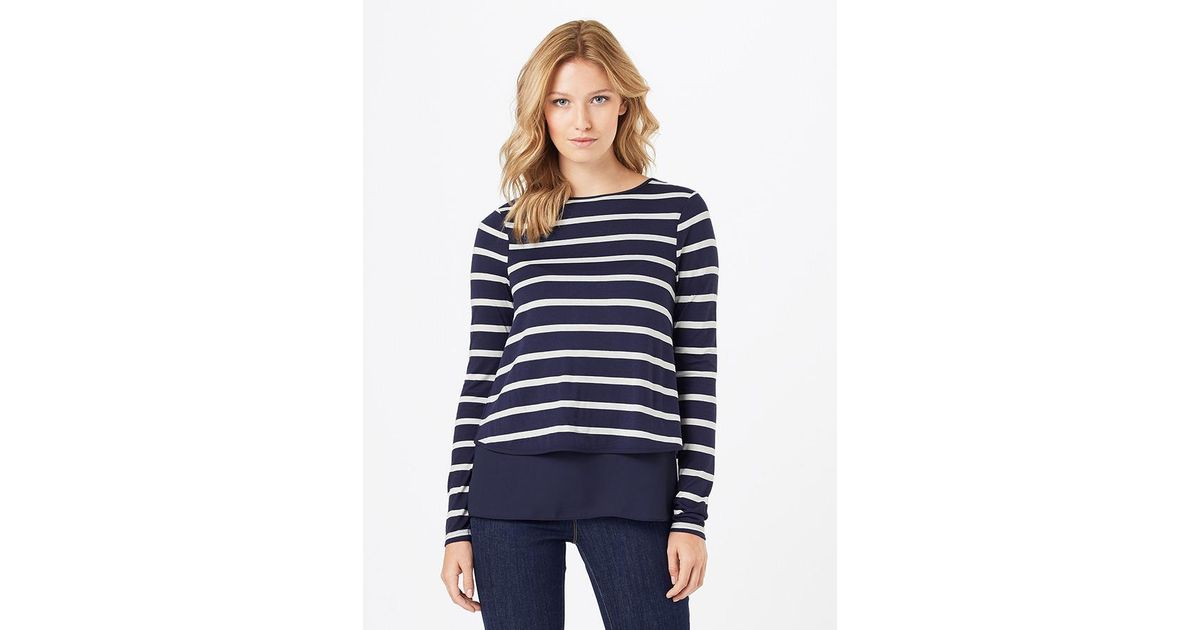 Phase Eight Samara Double Layer Stripe Top Sale Shop Affordable For Sale Sale Big Discount Free Shipping Original vltbN8Gqc