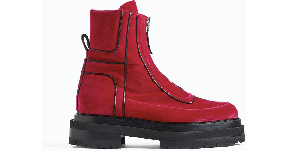 Pierre Hardy Stitch detailed platform sole ankle boots Outlet Exclusive Clearance Countdown Package 0PAuqY