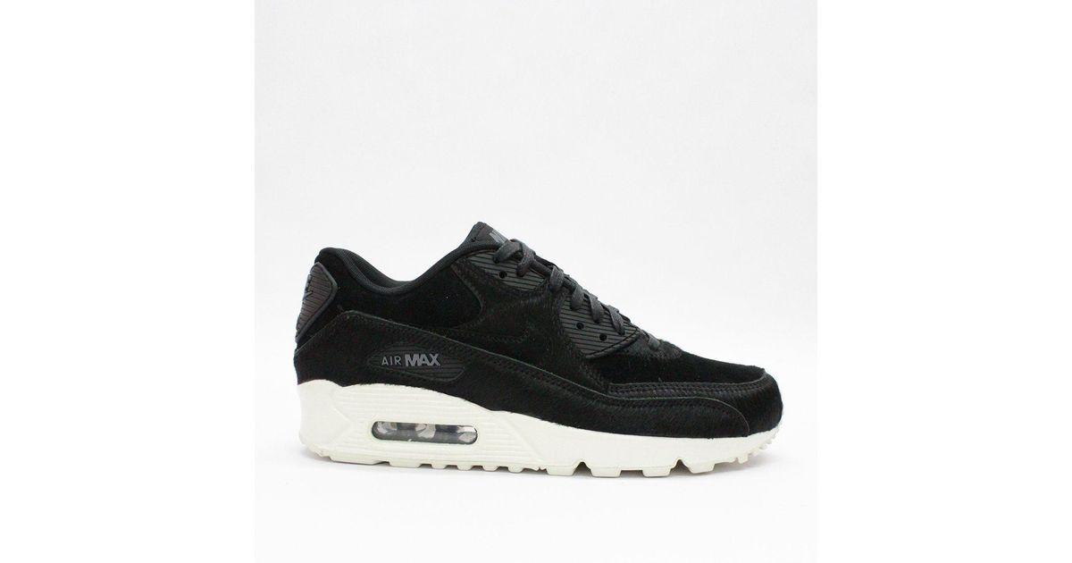 the latest 123b4 81e49 Nike Trainers - Nike Wmns Air Max 90 Lx Black 898512 006 - Lyst