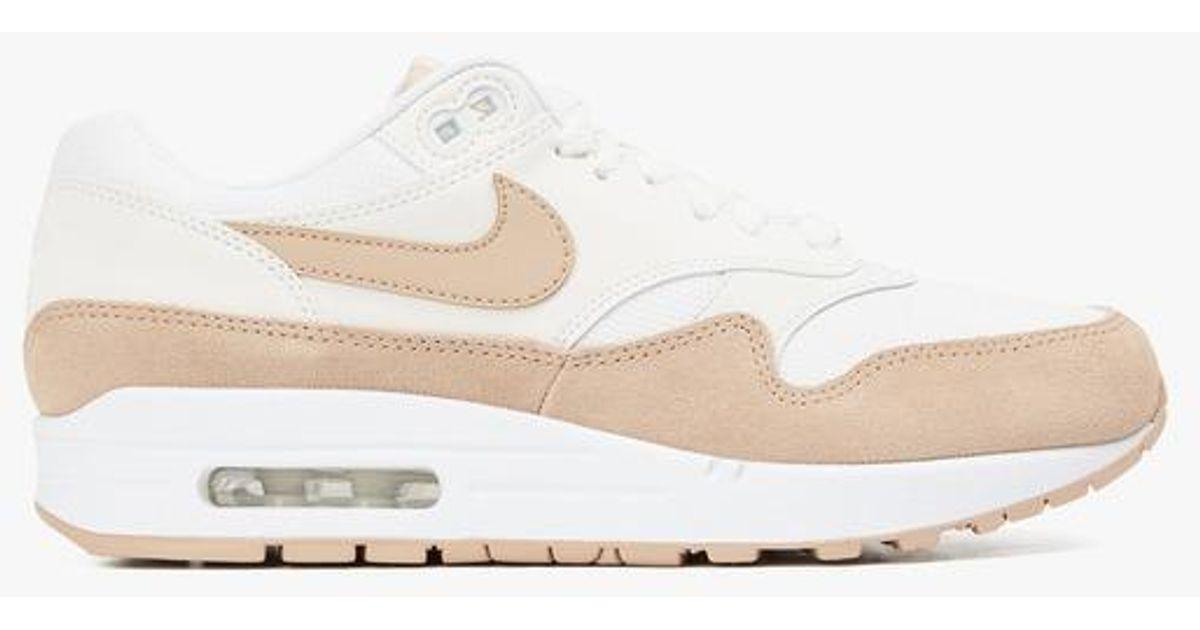Air max 1 en toile Nike en coloris Blanc - Lyst