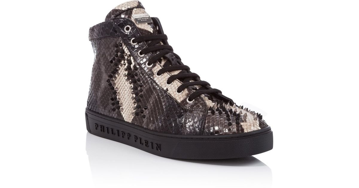 """Philipp Plein Hi-Top Sneakers """"Fight for you"""""""