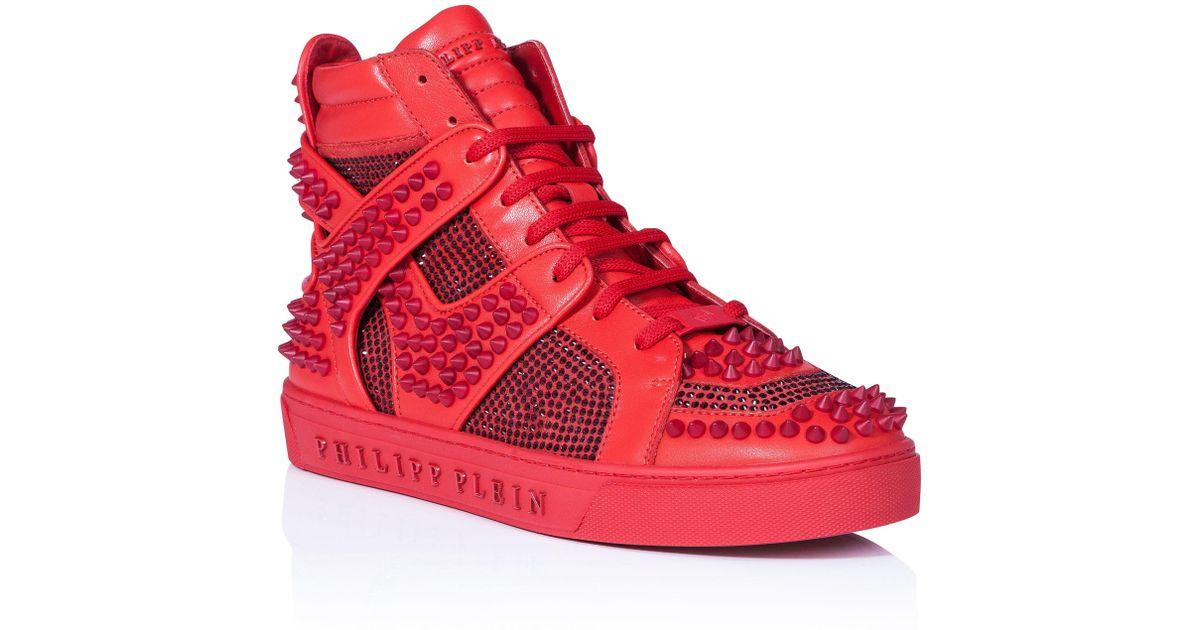 Philipp Plein Hi-Top Sneakers