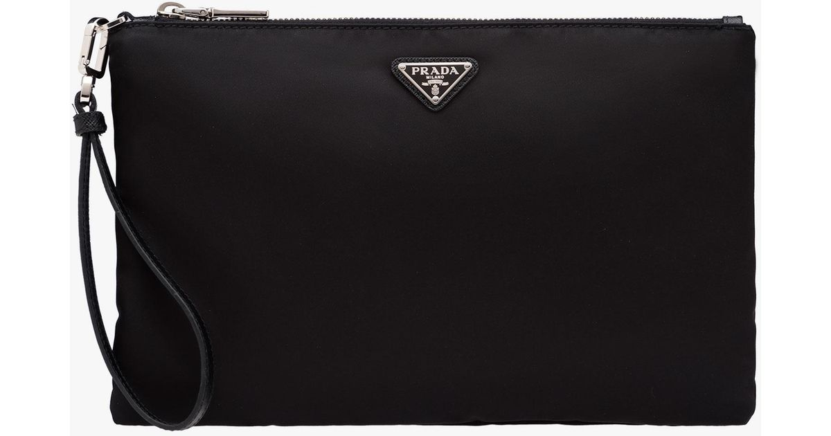 bdc70e89f417 Lyst - Prada Travel Kit in Black for Men