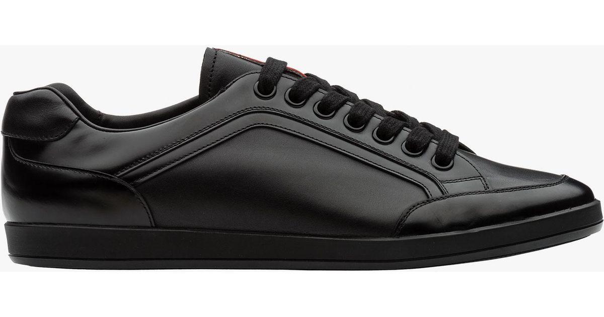 Sneaker In Prada For Men Lyst Black F1lTcKJ3