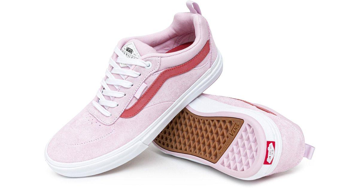 Vans Kyle Walker Pro Shoes in Pink for