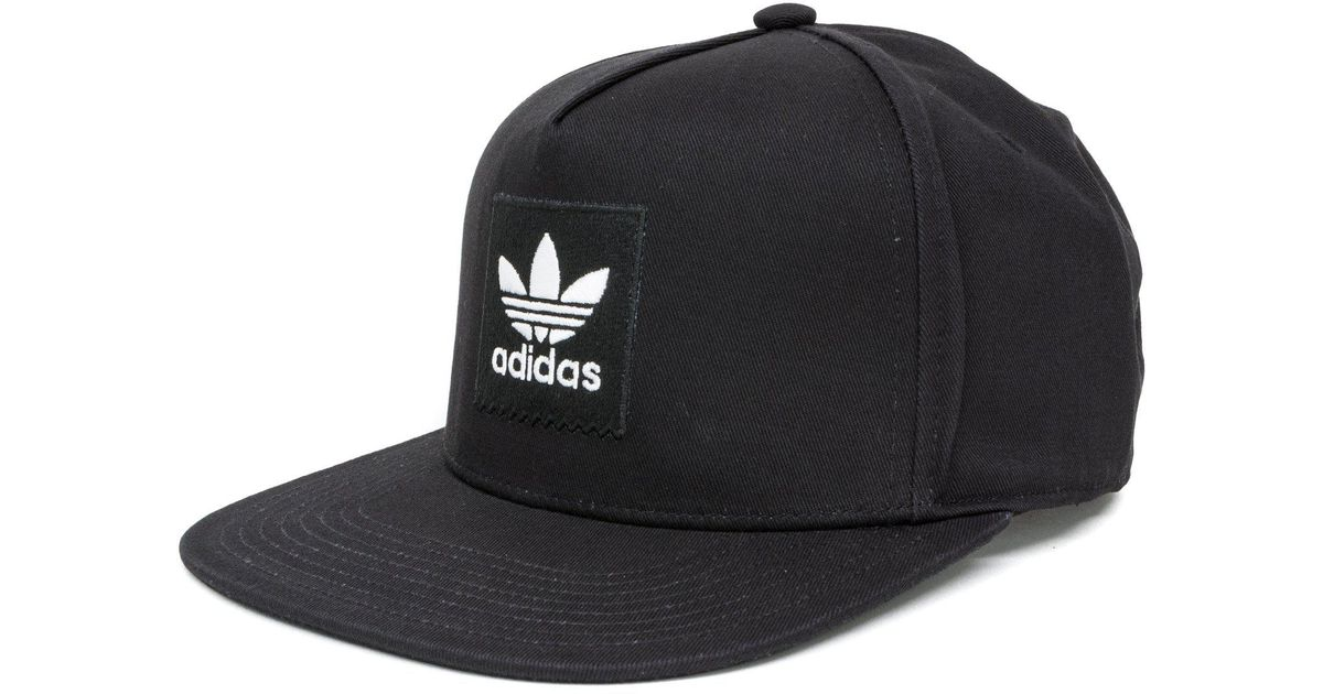 5d98c73092363 Lyst - adidas Two-tone Trefoil Snapback Cap in Black for Men
