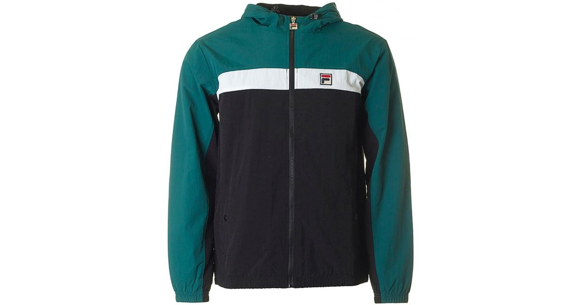 Fila Vintage Multicolor Clipper Colour Block Jacket for men