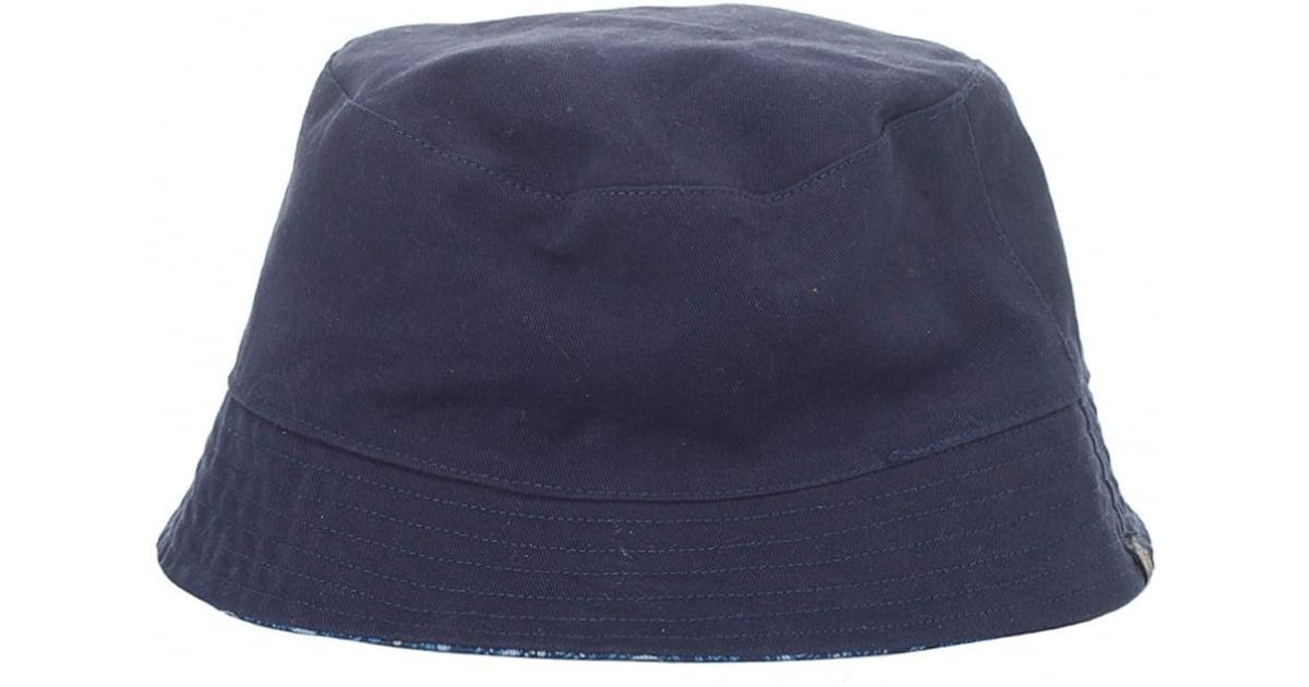Lyst - Pretty Green Tonal Paisley Bucket Hat in Blue for Men ff882a068be7