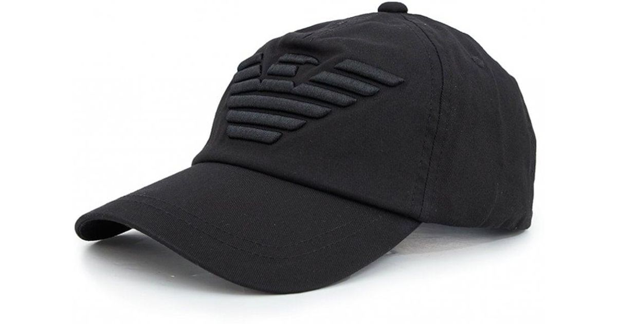 quality products attractive price finest selection Armani Jeans Black Eagle Cap for men
