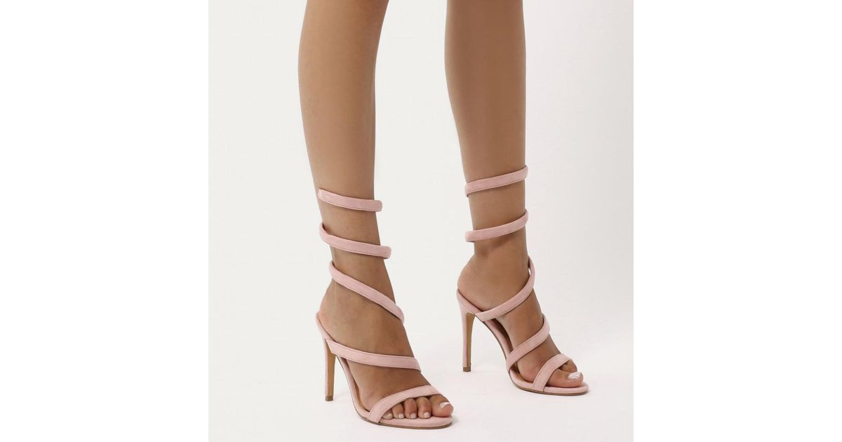 Public Desire FIRE - High heeled sandals - blush pink