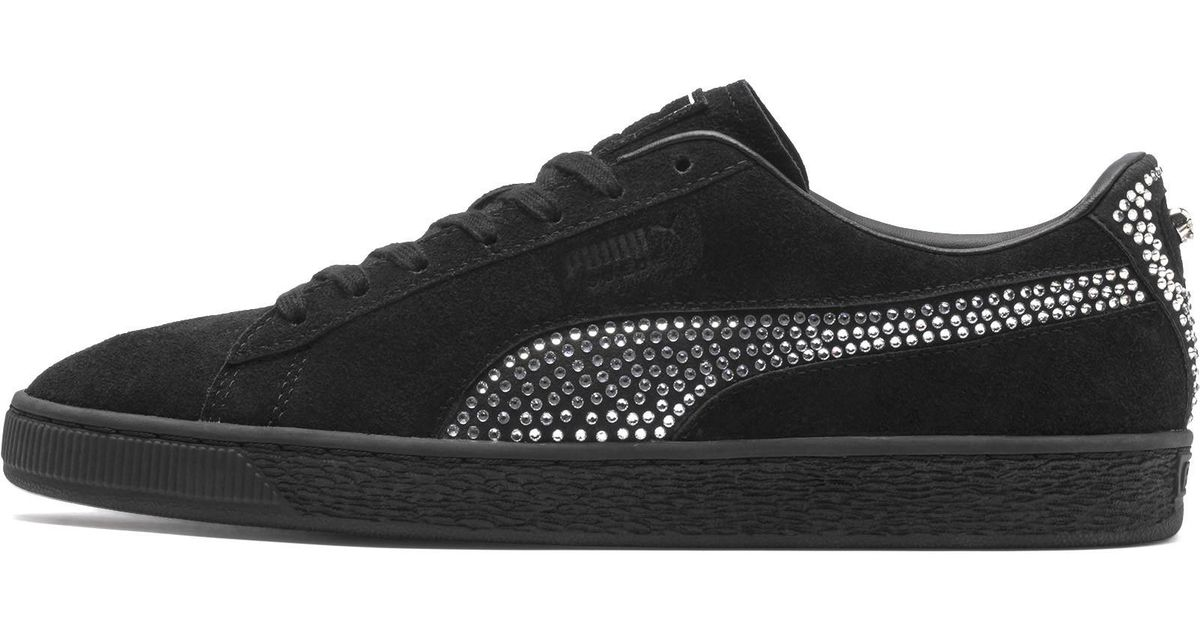 fa42028b6e PUMA Black X The Kooples Suede Sneakers for men