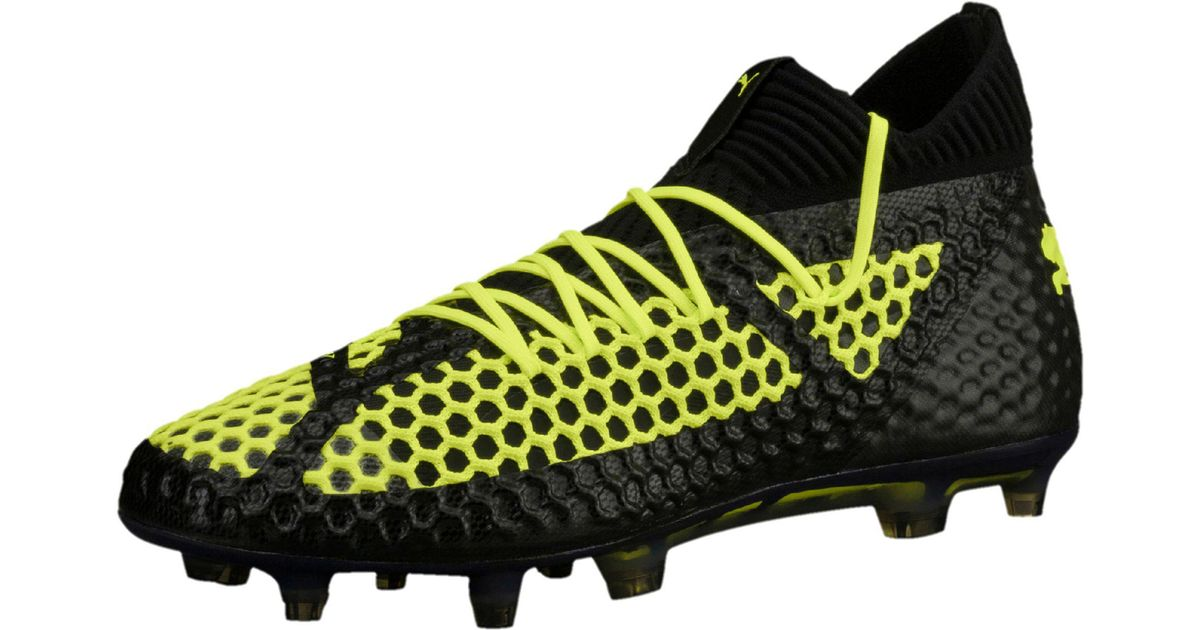080490a4fef ... italy lyst puma future 18.1 netfit fg ag mens soccer cleats in black  for men c9ba1