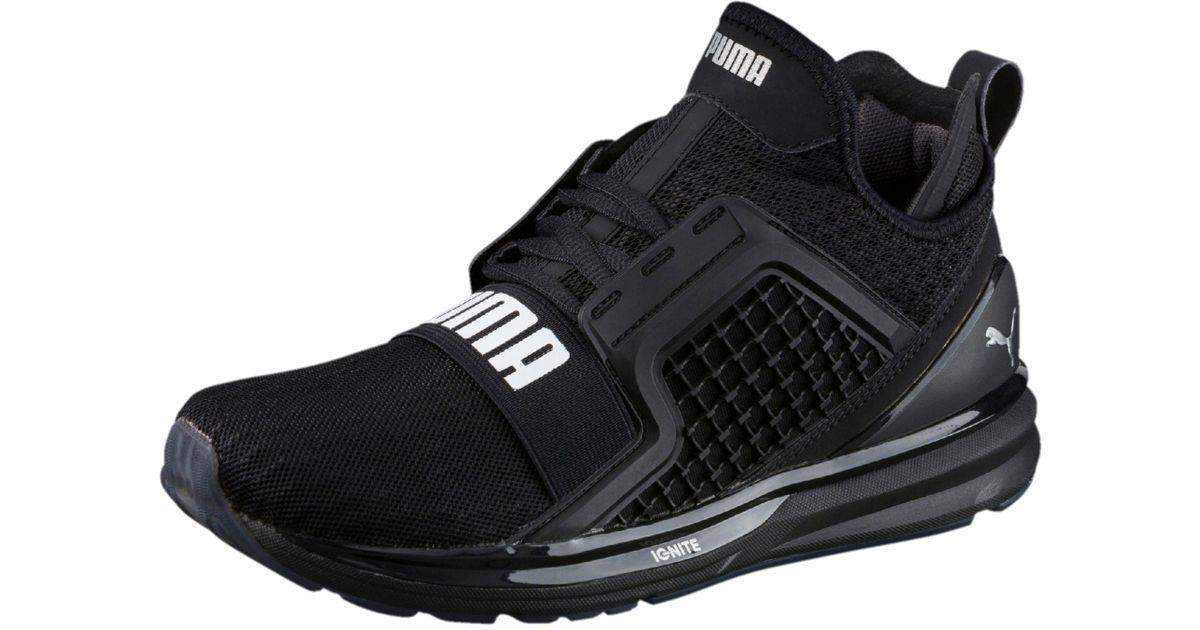 sports shoes 8900a e8924 PUMA Black Ignite Limitless Women's Training Shoes