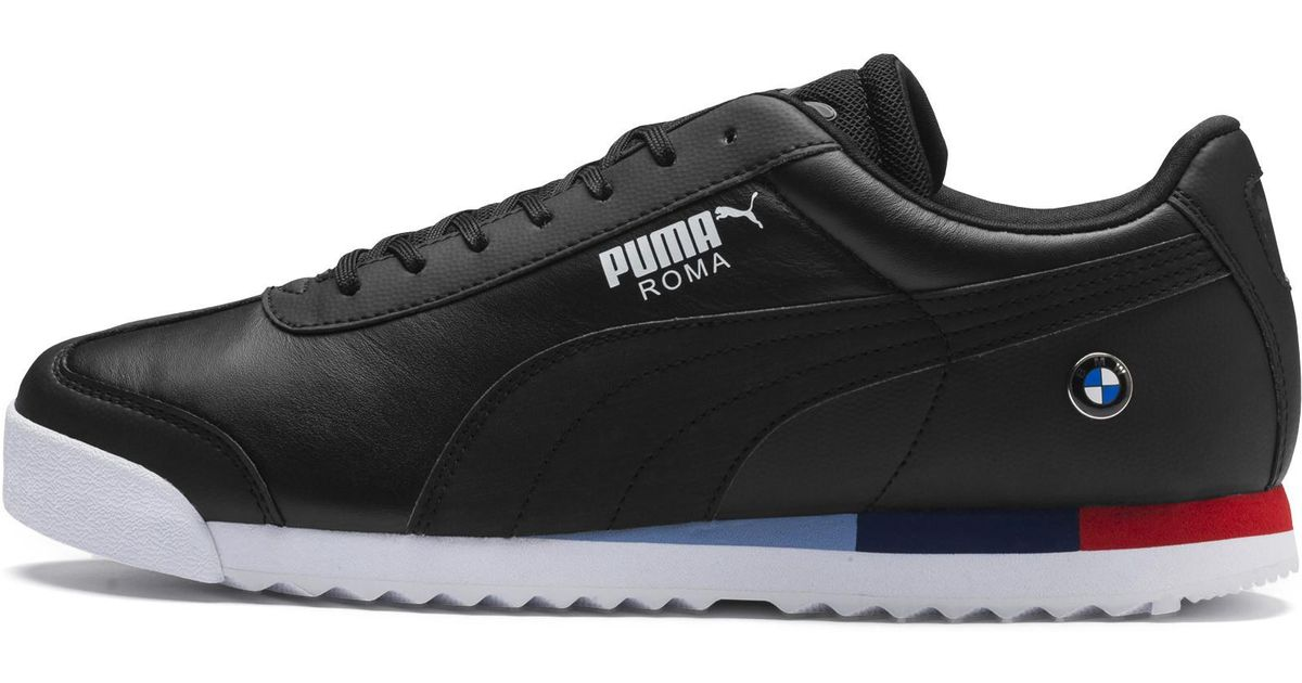 50090d55c PUMA Bmw Mms Roma in Black for Men - Save 24% - Lyst