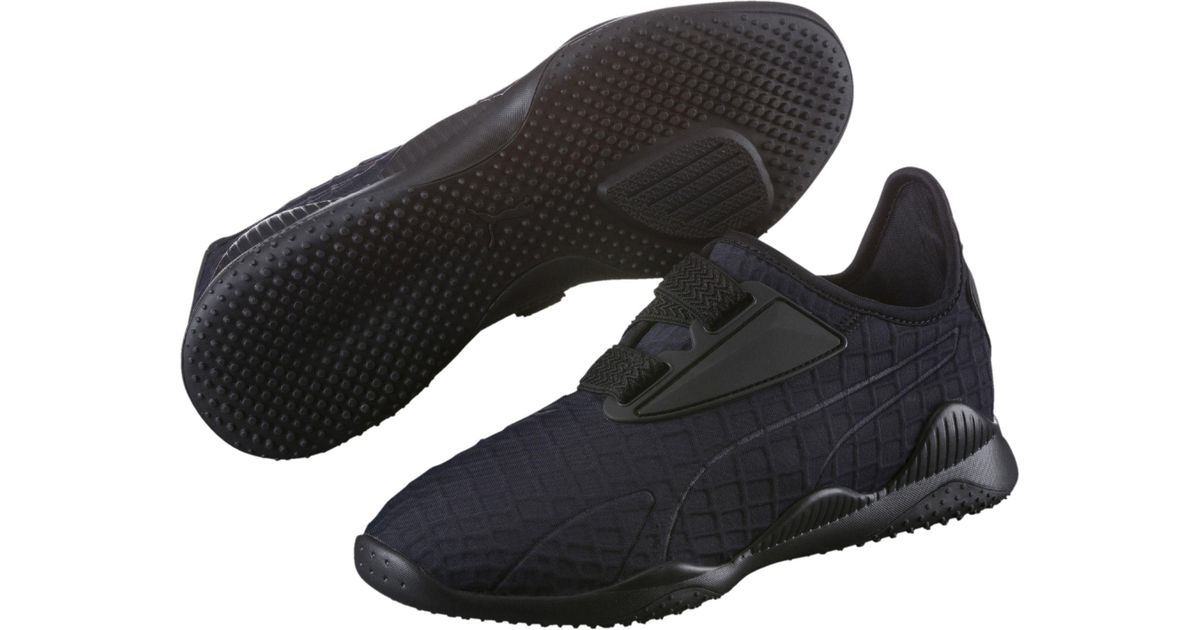 0e17c3ce92a Lyst - PUMA Evolution Mostro Women s Training Shoes in Black