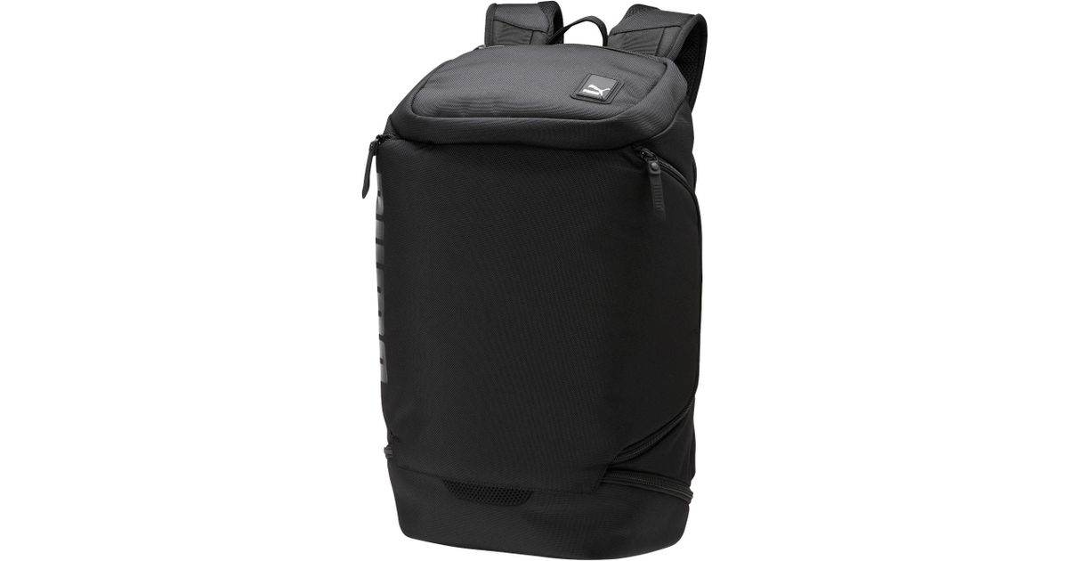 Lyst - PUMA Evo Block Backpack in Black for Men ebee7d9303dcb