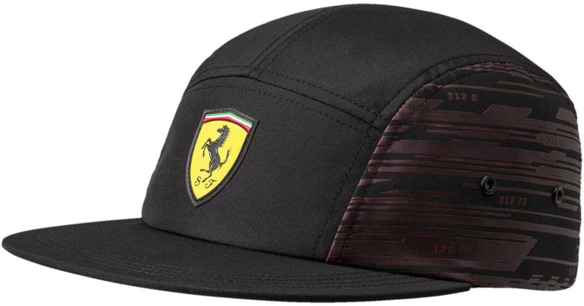 ... rosso corsa m 05290601 79b51 68b27  where to buy lyst puma ferrari  transform hat in black for men 1ea11 1e0e0 b39bb5300aee