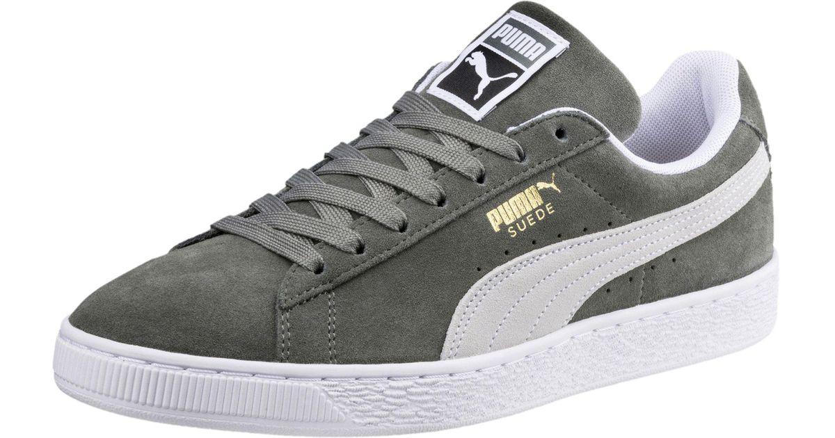 Lyst - Puma Suede Classic Sneakers in Gray for Men 64e0ae4e4