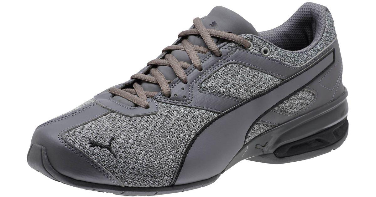 PUMA Black Tazon 6 Knit Men's Sneakers for men