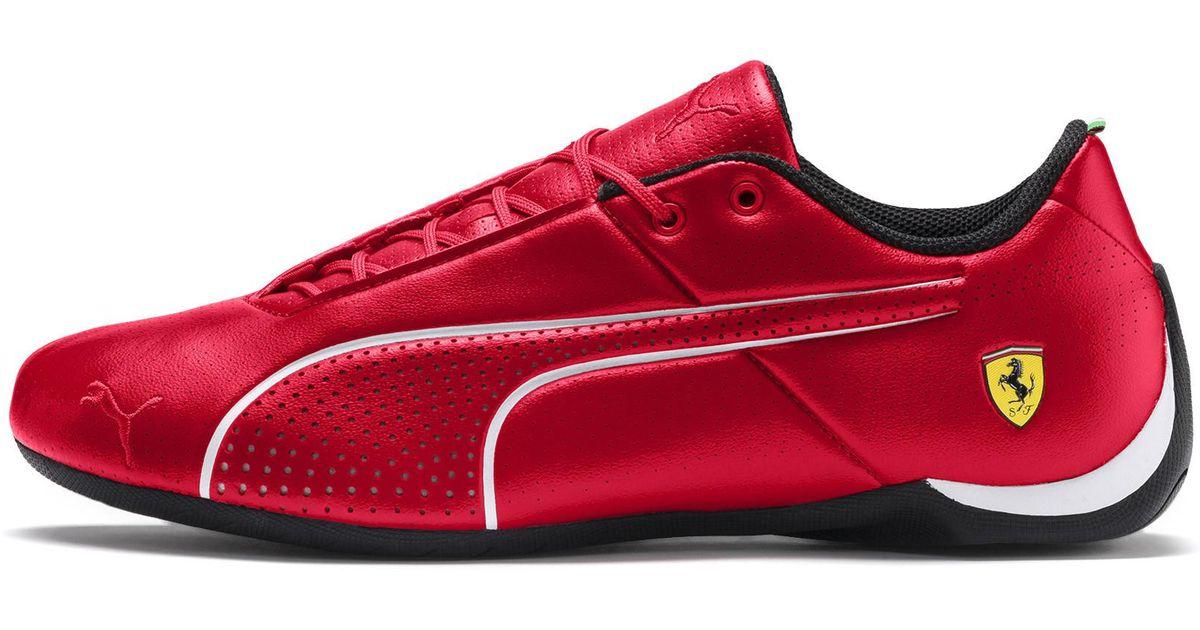 c788d0ea28 PUMA Red Ferrari Future Cat Sneaker for men