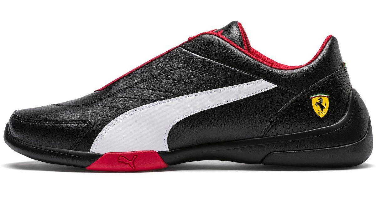 Lyst - PUMA Scuderia Ferrari Kart Cat Iii Sneakers in Black for Men - Save  35% 5b3966baa