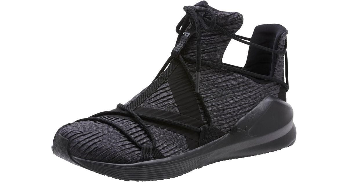 1db0e71814 PUMA Black Fierce Rope Pleats Women's Sneakers