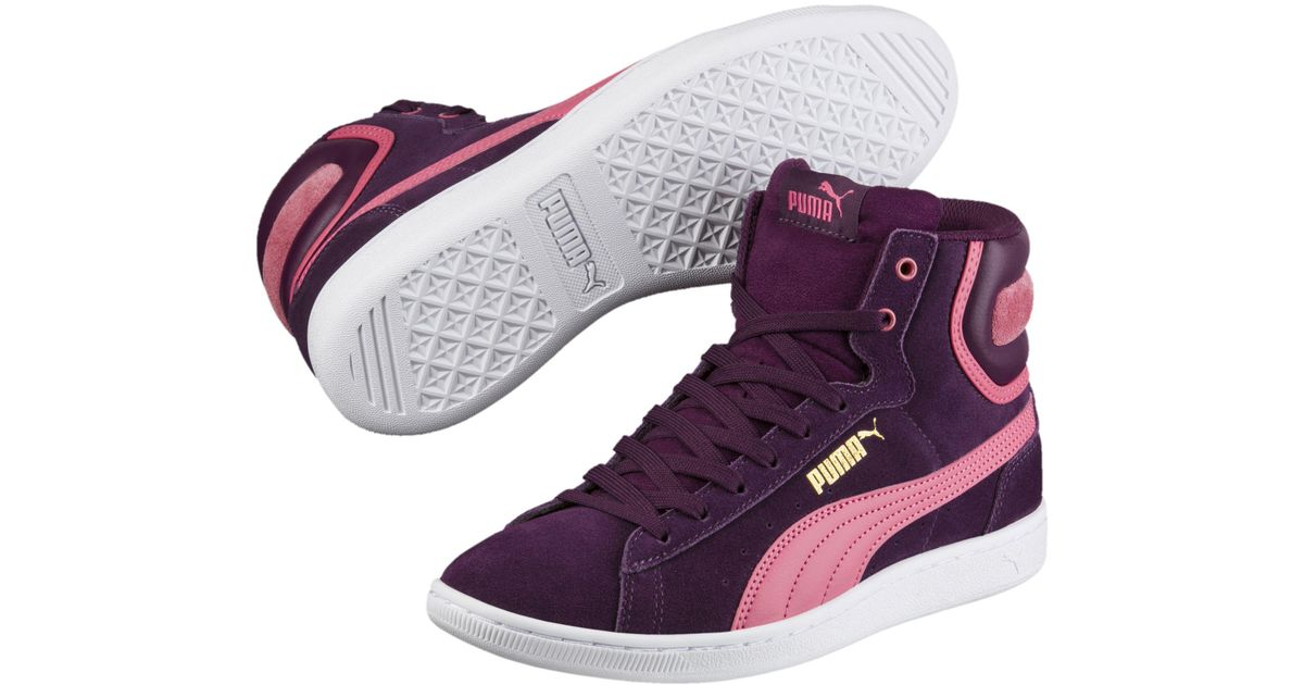 PUMA Suede Vikky Mid Women's High Top