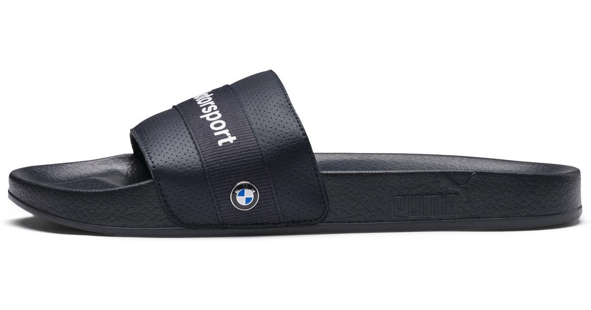 132e60626958 Lyst - PUMA Bmw M Motorsport Leadcat Slide Sandals in Blue