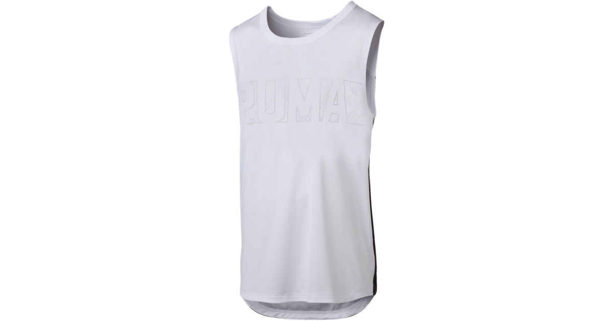 6ac81fd5ca6b96 Lyst - Puma Active Training Men s Energy Sleeveless Shirt for Men