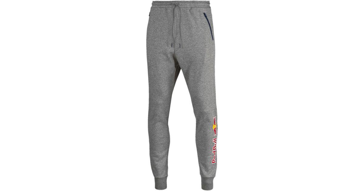 cd108c41ccb3 Lyst - PUMA Red Bull Racing Lifestyle Sweatpants in Gray for Men