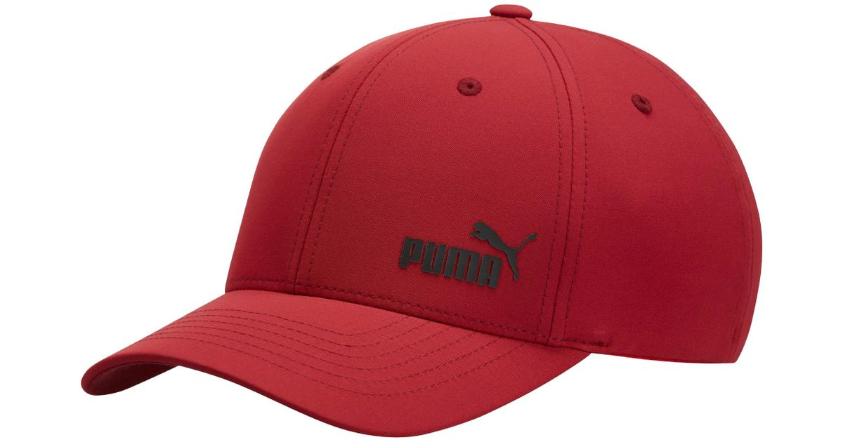 316ad05d889 Lyst - PUMA Force Flexfit Hat in Red for Men