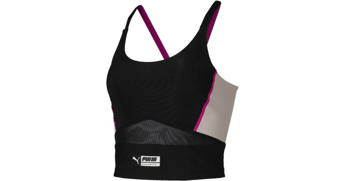 83c3393a1f PUMA Black Trailblazer Women's Crop Top