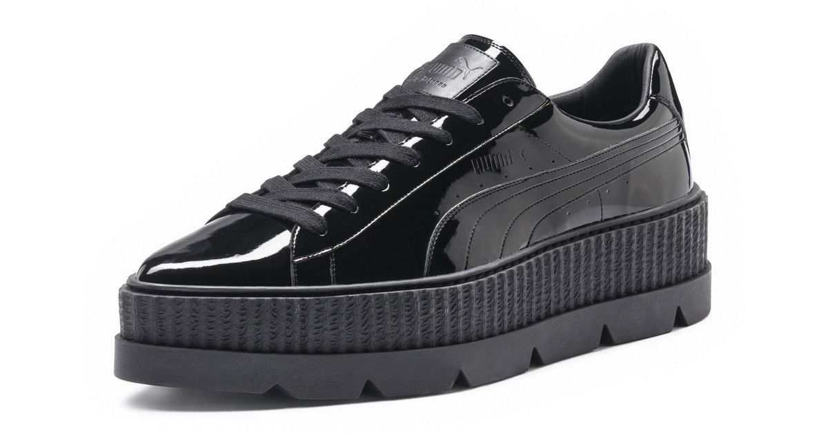 meet 4add9 ce0e3 PUMA Black Fenty Women's Pointy Creeper Patent