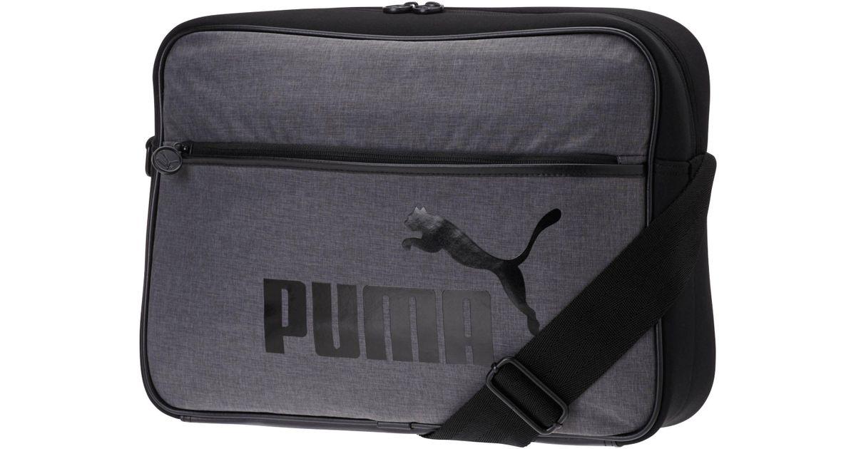 284005a4f847 Lyst - PUMA Heritage Shoulder Bag in Black for Men