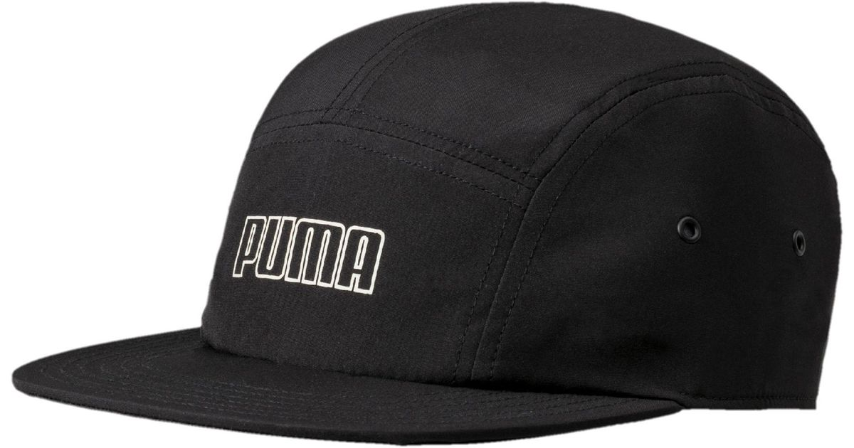 94f0bb166d9 Lyst - PUMA Archive 5-panel Hat in Black for Men