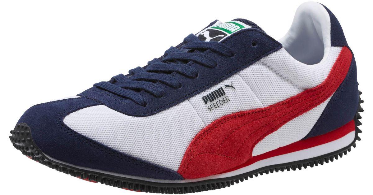 PUMA Speeder Mesh Sneakers for Men - Lyst