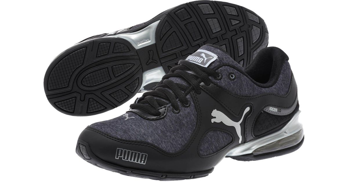 ... hot lyst puma cell riaze heather womens running shoe in black for men  868c8 d2d8f e4316a247