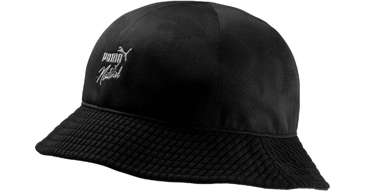 a8ccabbee17 Lyst - PUMA X Naturel Bucket Hat in Black for Men