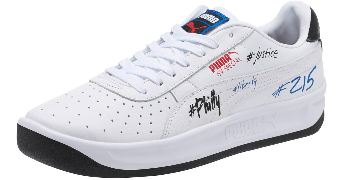 buy online b64a9 933b8 PUMA White Gv Special Philly Sneakers for men